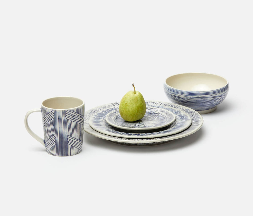 Navy & Cream Dinnerware
