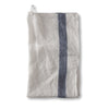 Striped Tea Towel - Navy
