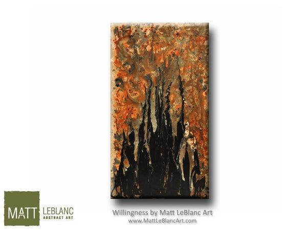 Willingness by Matt LeBlanc Art-24x48