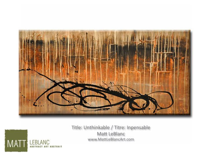 Portfolio - Unthinkable by Matt LeBlanc Art