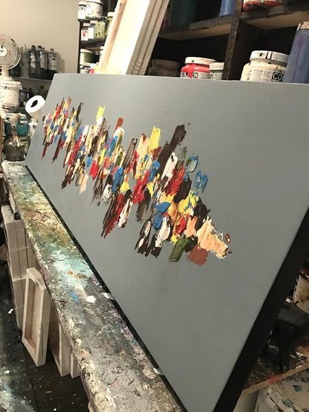 Purpose II by Matt LeBlanc Art-20x60