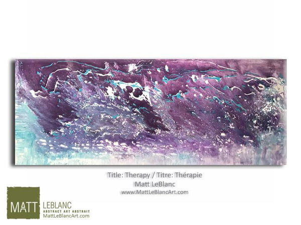 Portfolio - Therapy by Matt LeBlanc Art