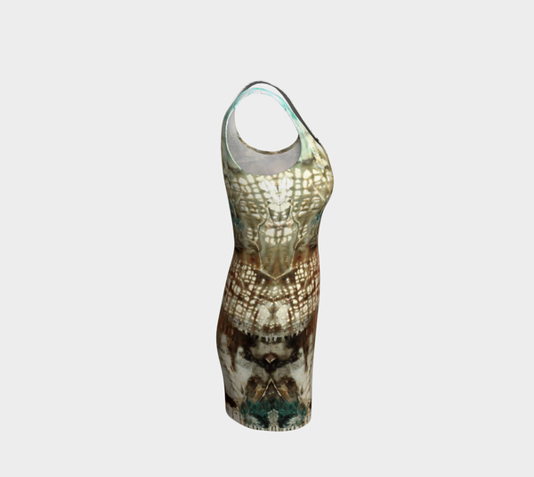 Matt LeBlanc Art Bodycon Dress - 003