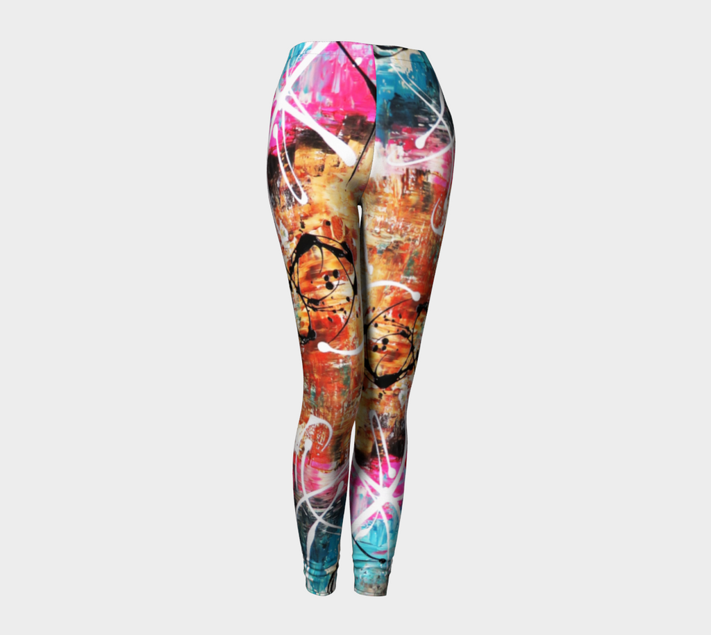 Matt LeBlanc Art Leggings - Design 002