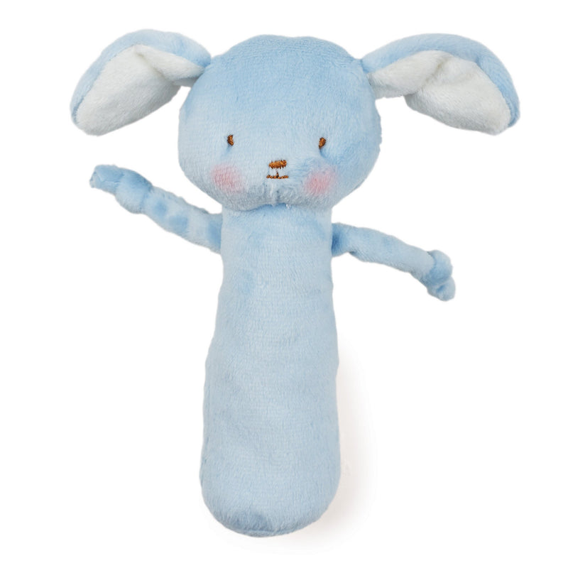 Blue Puppy Rattle