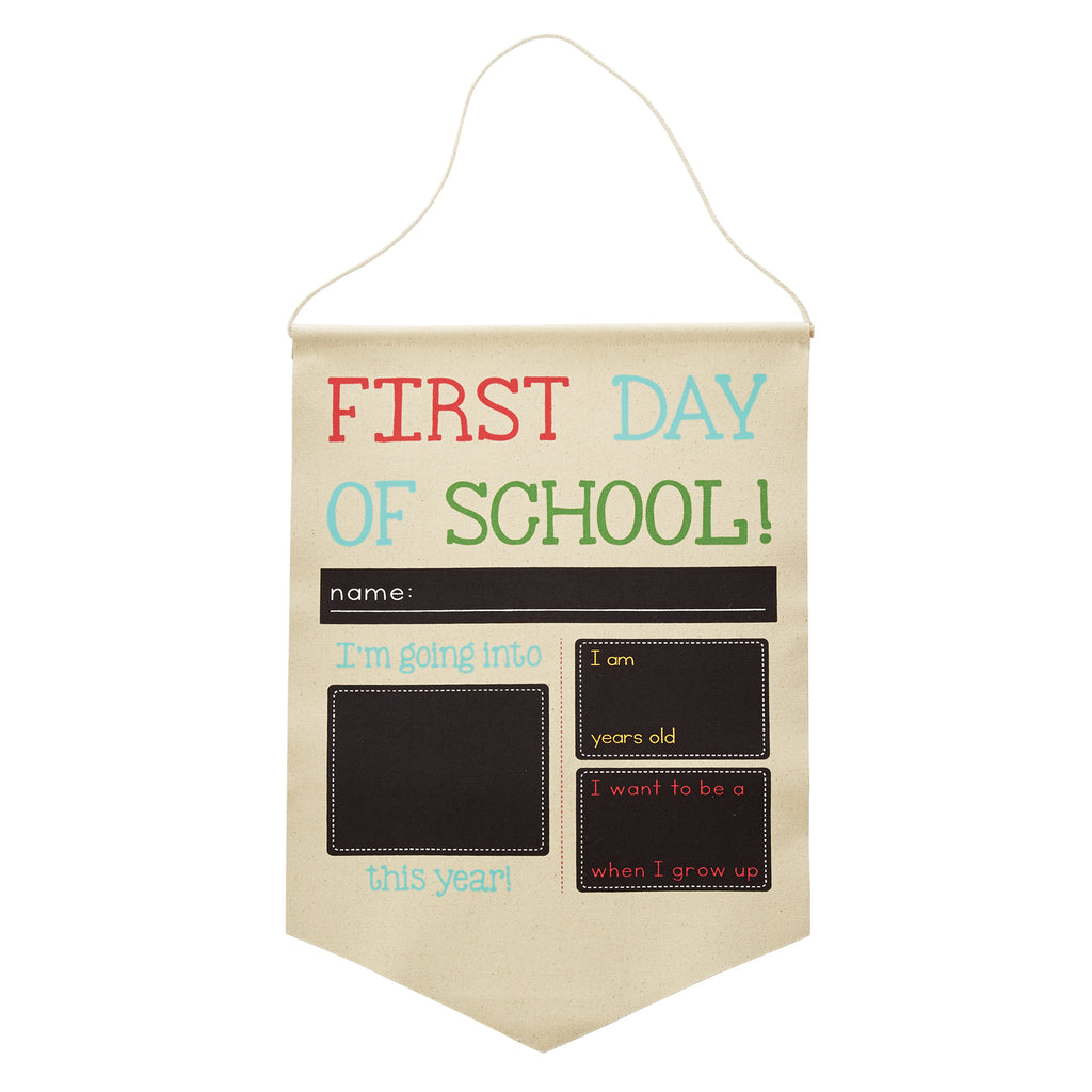 Back to School & Birthday Reversible Banner