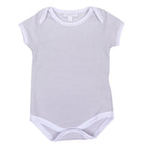 Magnolia Baby Essentials Unisex Mini Stripe Short Sleeve Bodysuit