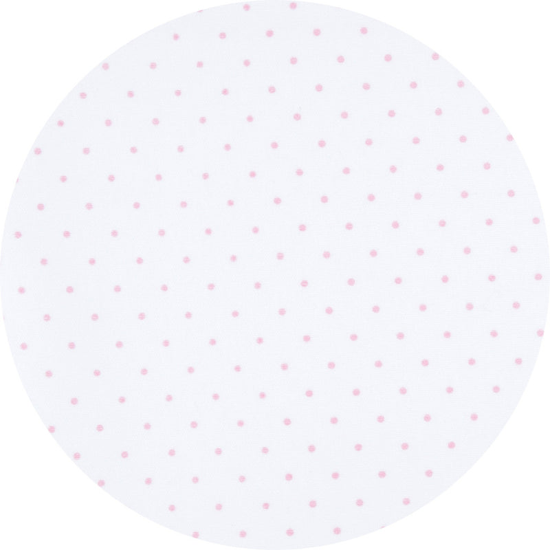 Magnolia Baby Essentials Pink Mini Dots Smocked Footie