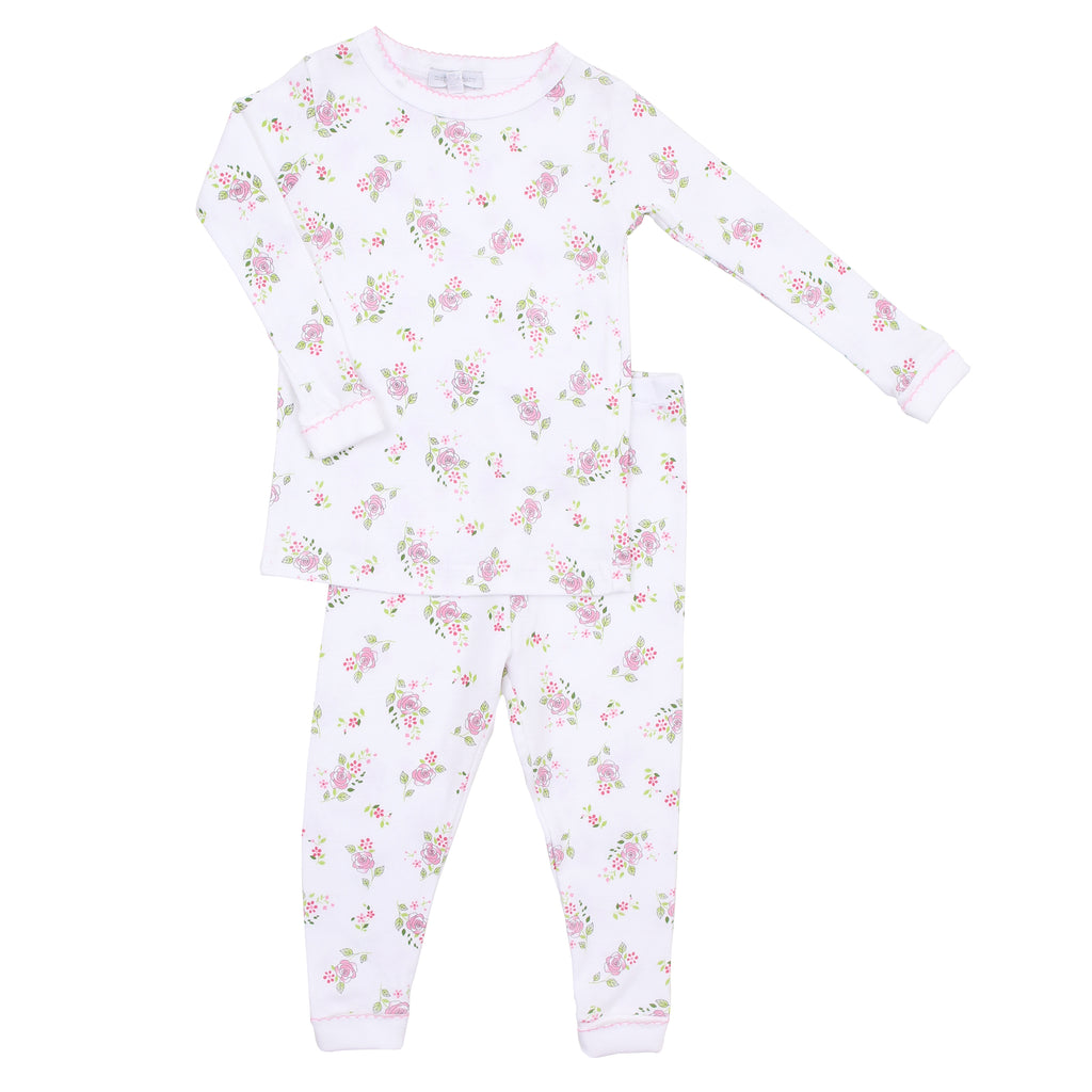 Magnolia Baby Essentials Hope's Rose Long Pajamas