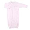 Magnolia Baby Worth the Wait Pink Embroidered Converter Gown