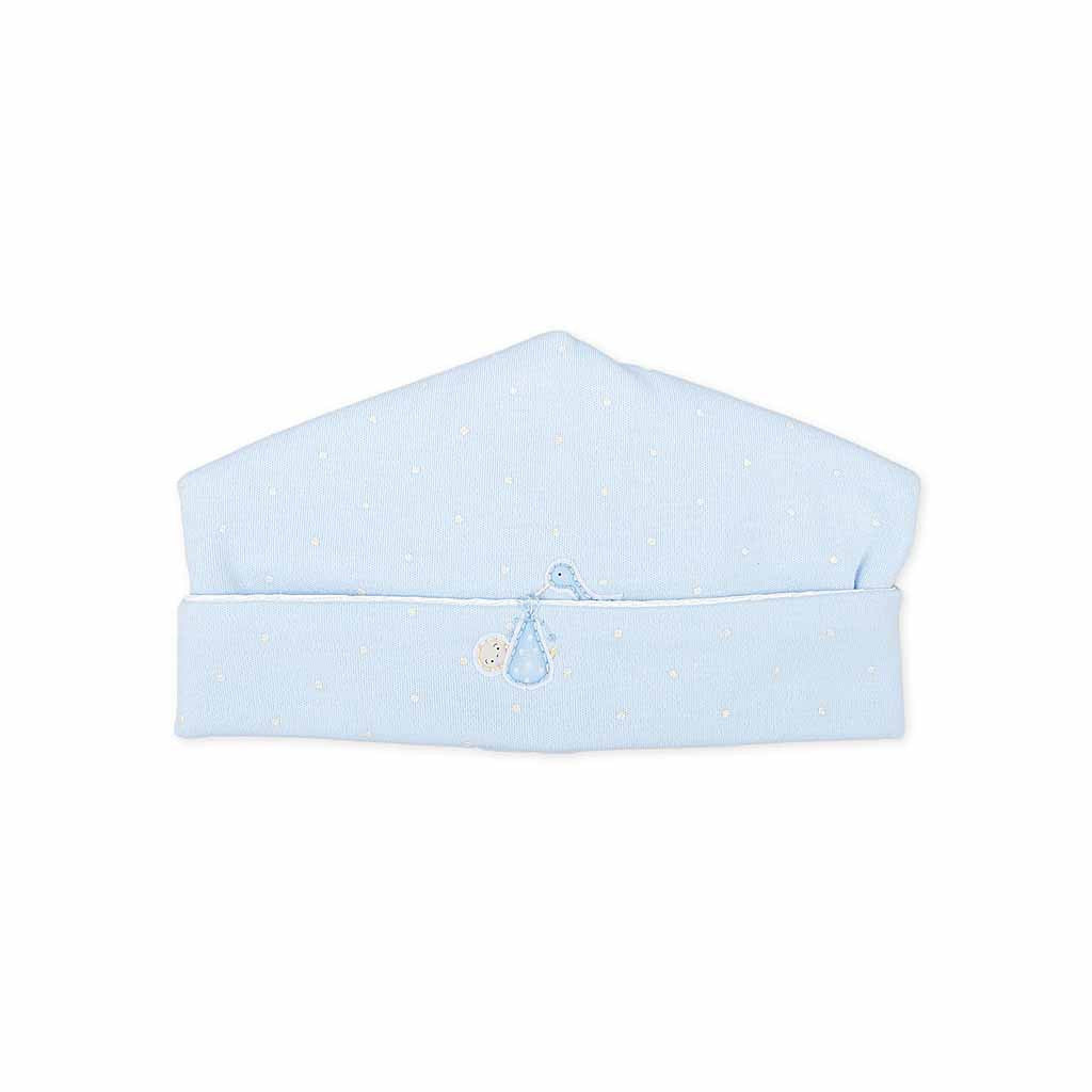 Magnolia Baby Layette Blue Worth the Wait Baby Hat