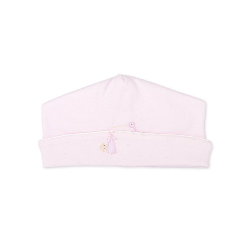 Magnolia Baby Worth the Wait Pink Embroidered Hat
