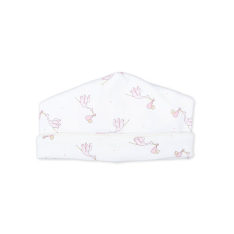 Magnolia Baby Essentials Pink Mini Dots Smocked Hat