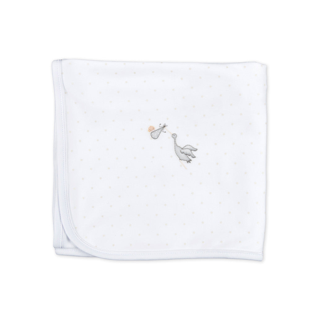 Magnolia Baby Worth the Wait Unisex Receiving Blanket