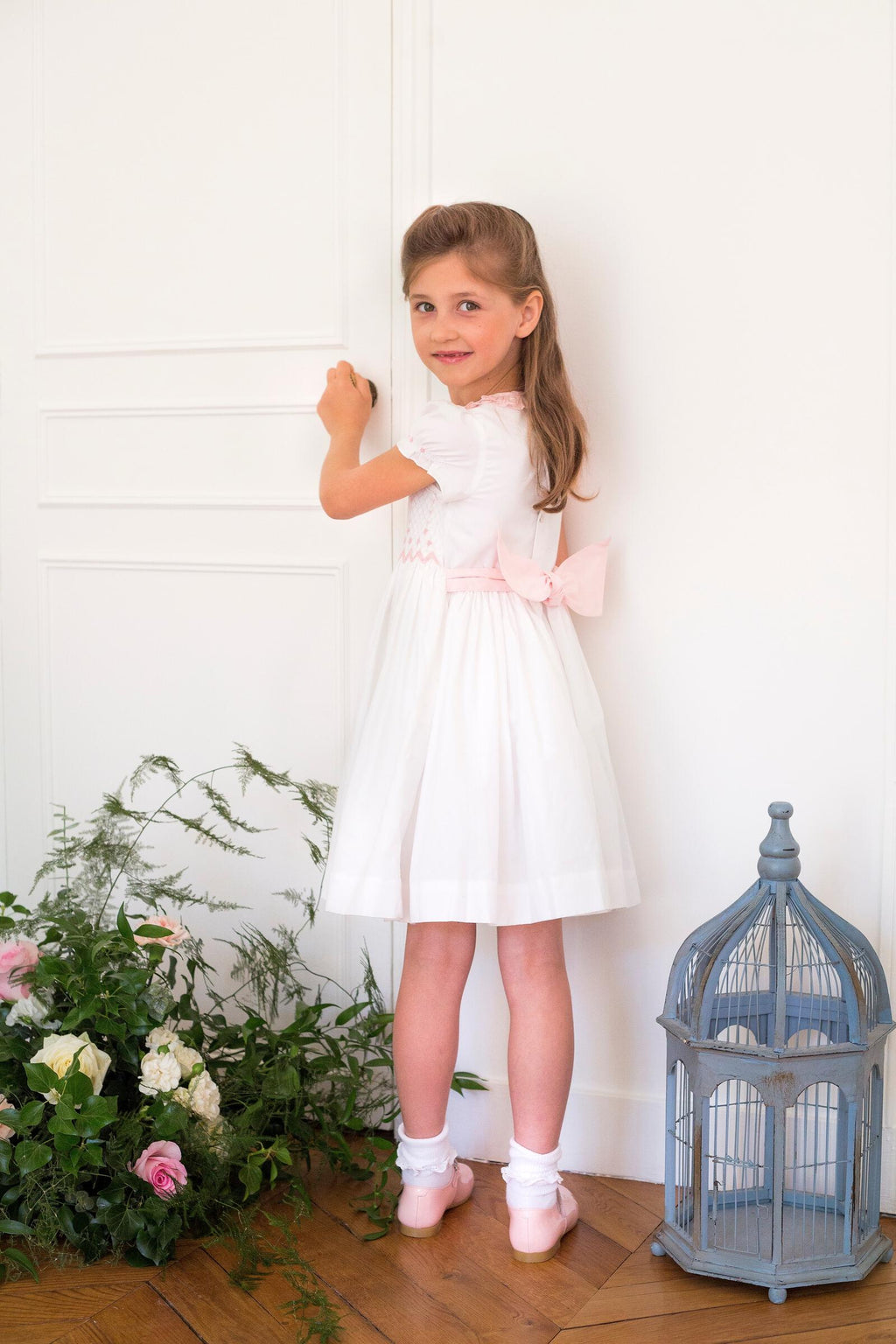 Antoinette Paris Valse Smocked Dress
