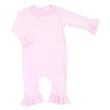 Magnolia Baby Essentials Pink Ruffled Playsuit - Personalization Available