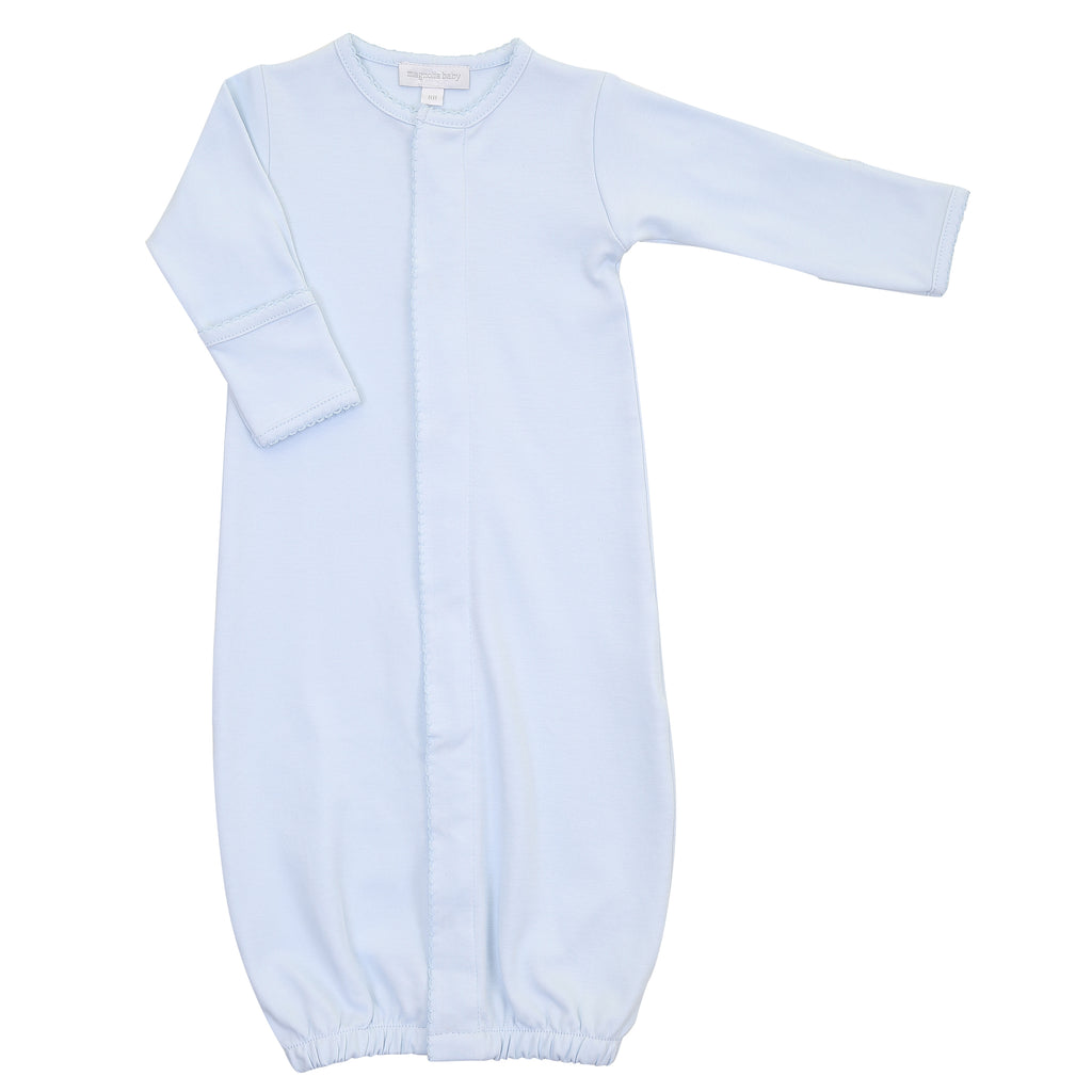 Magnolia Baby Essentials Blue Converter Gown - Personalization Available