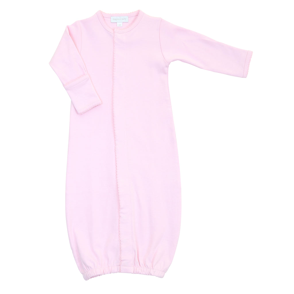 Magnolia Baby Essentials Pink Converter Gown - Personalization Available