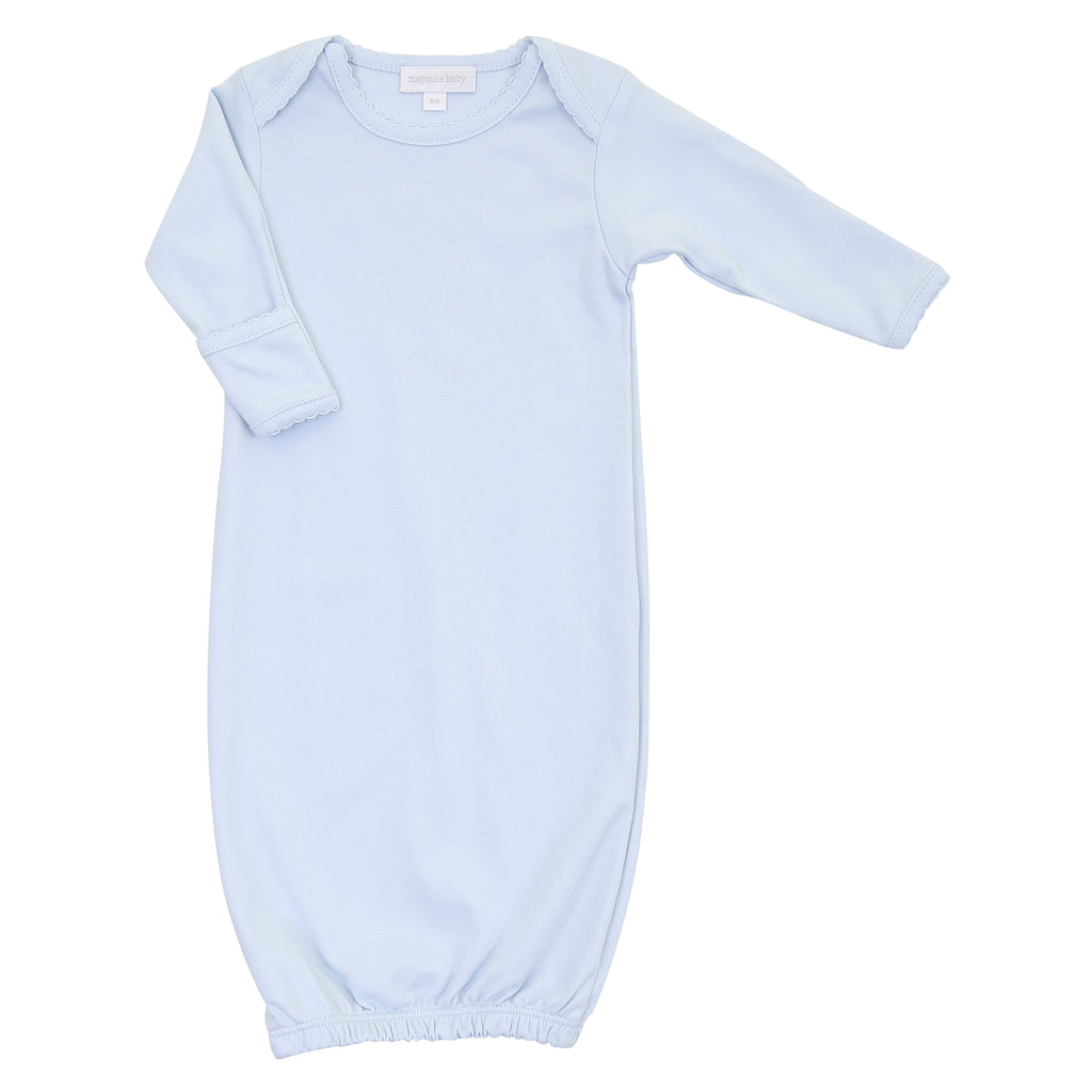 Magnolia Baby Essentials Blue Lap Shoulder Gown - Personalization Available