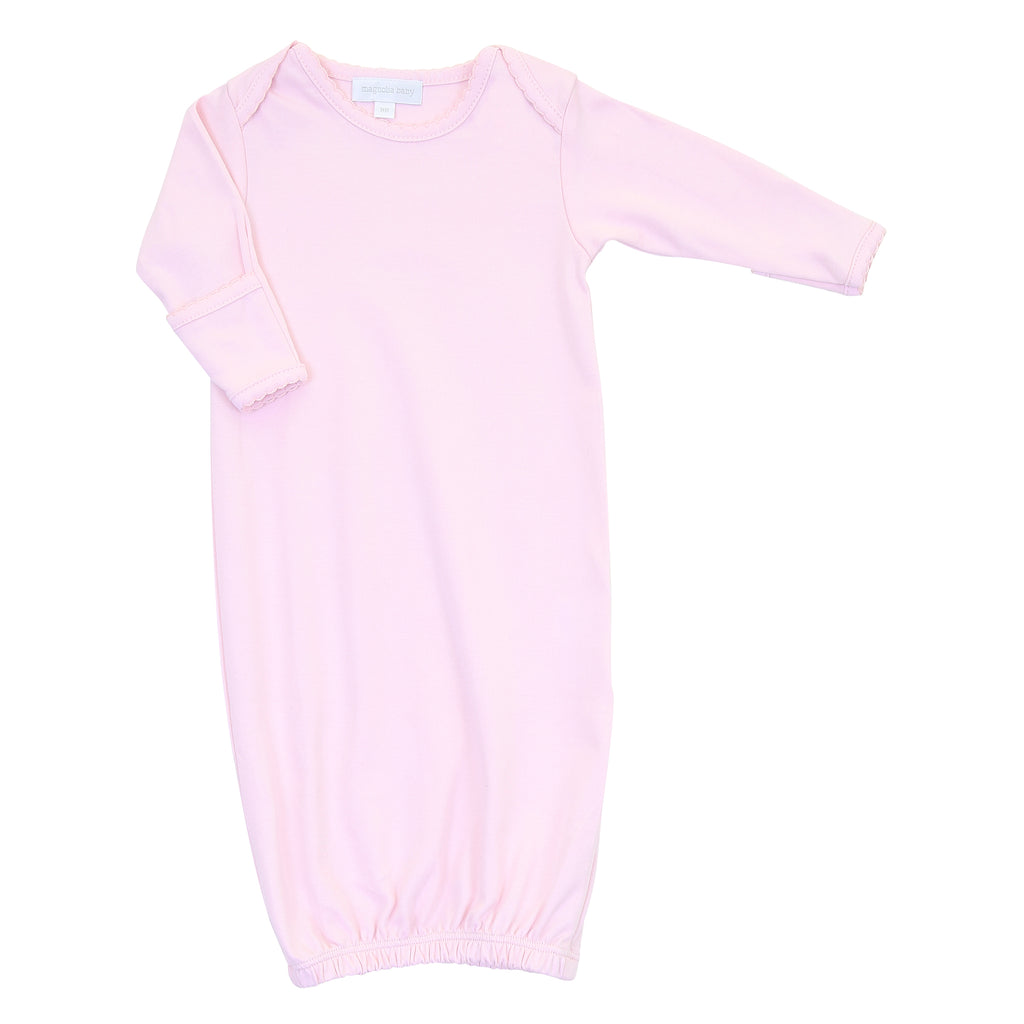 Magnolia Baby Essentials Pink Lap Shoulder Gown - Personalization Available