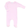 Magnolia Baby Essentials Pink Lap Shoulder Footie - Personalization Available
