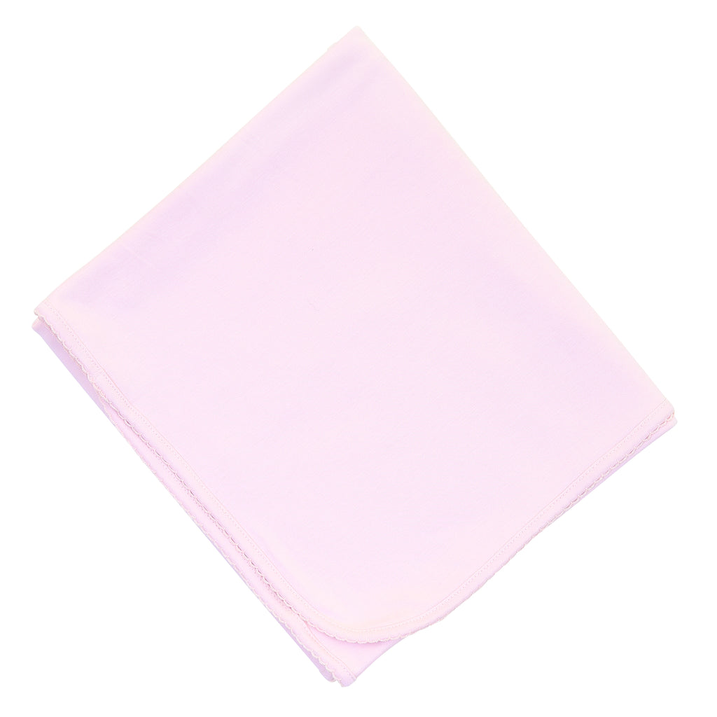 Magnolia Baby Essentials Pink Blanket - Personalization Available