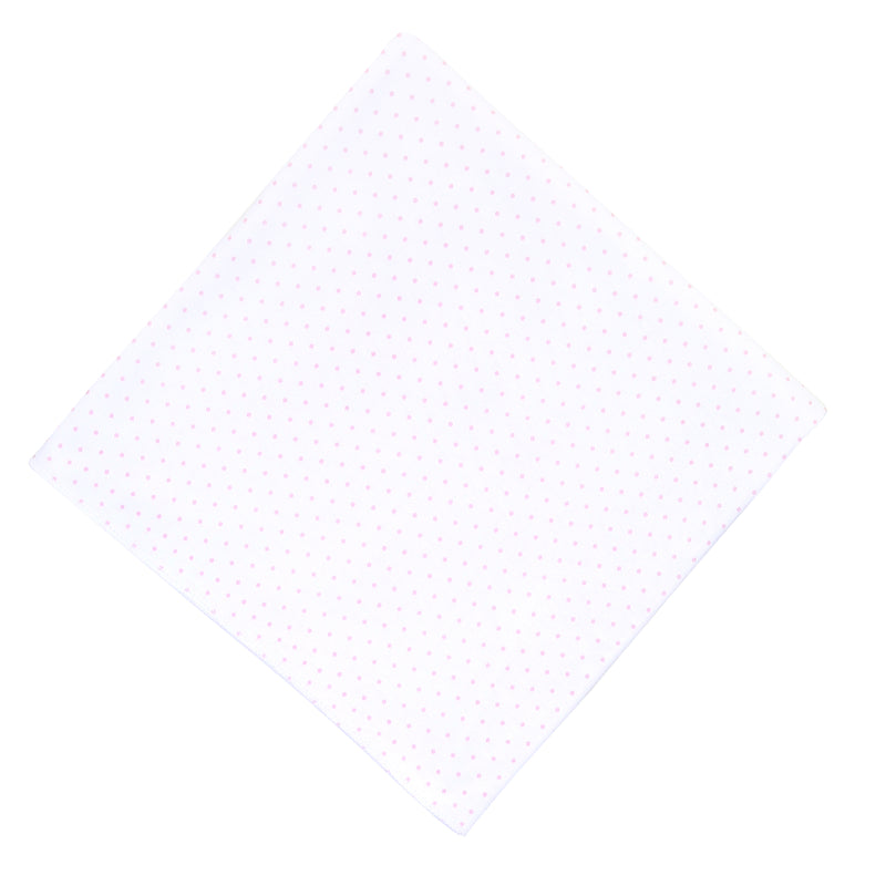 Magnolia Baby Essentials Pink Mini Dots Swaddle Blanket - Personalization Available
