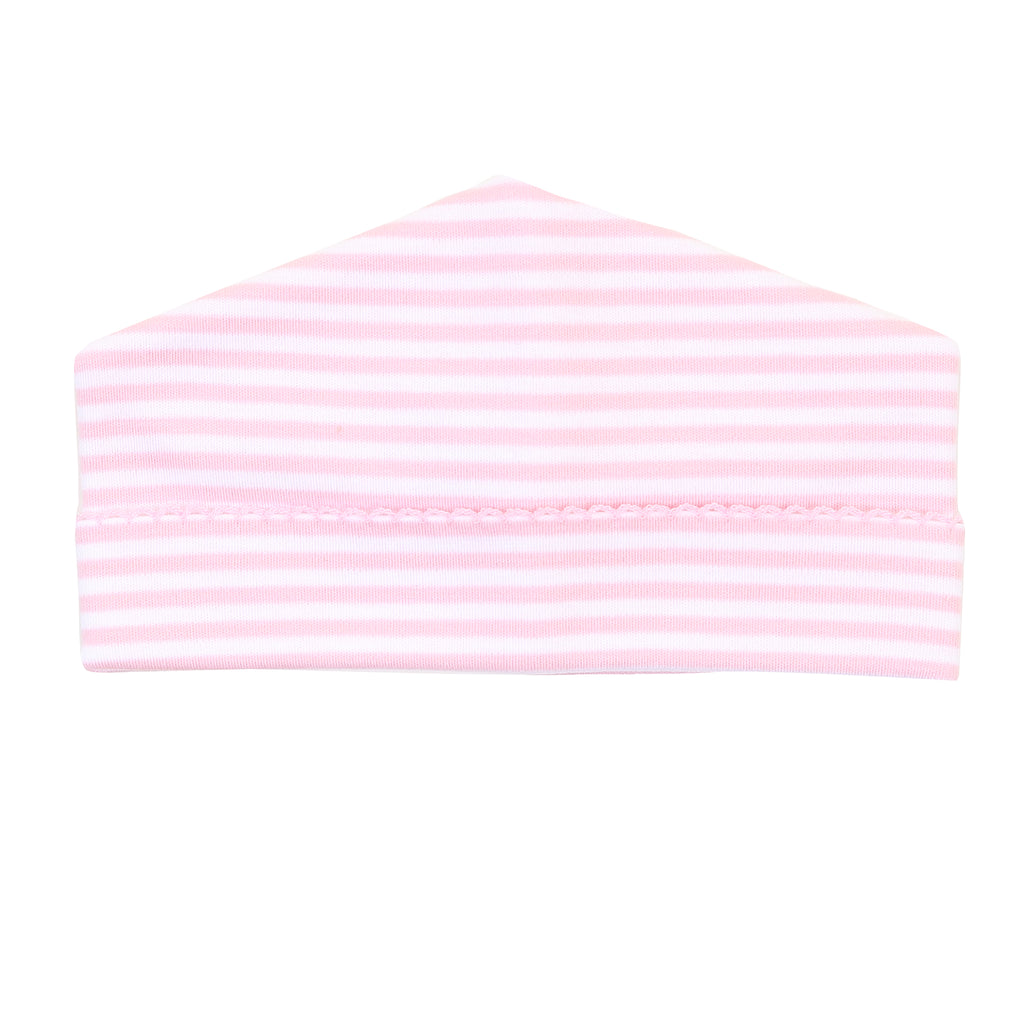 Magnolia Baby Essentials Pink Stripes Hat - Personalization Available