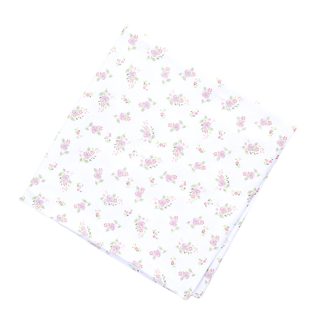 Magnolia Baby Essentials Hope's Rose Swaddle Blanket