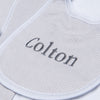 Magnolia Baby Essentials Unisex Mini Stripe Bib - Personalization Available