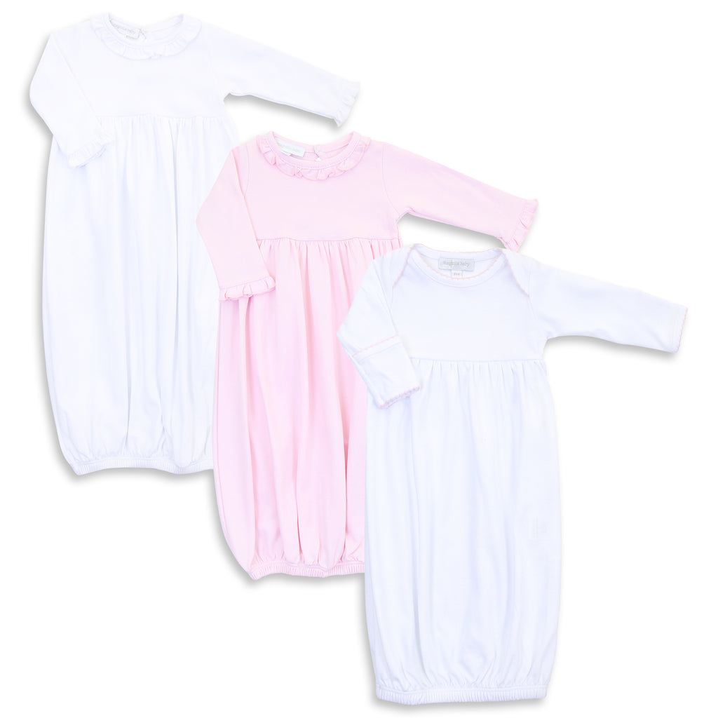 Magnolia Baby Girl Mixed Gown Set (3)