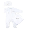 Magnolia Baby Unisex Worth the Wait Sleepsuit Layette Set