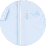 Magnolia Baby Boy/Girl Twin Gift Set - Worth the Wait Embroidered Gown
