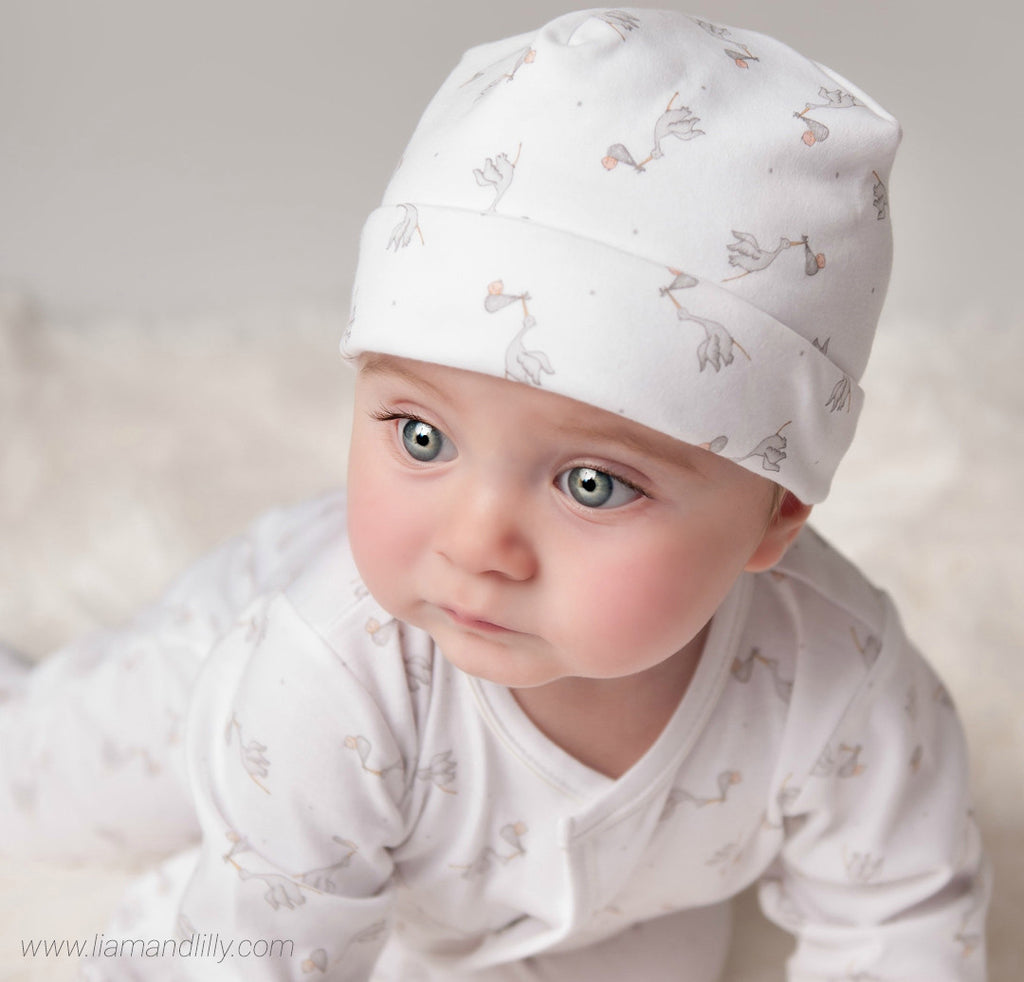 Magnolia Baby Essentials Worth the Wait Unisex Print Hat
