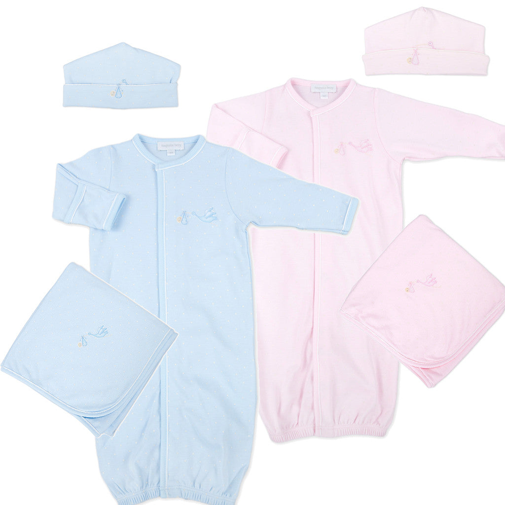 Magnolia Baby Worth the Wait Twin Gown Gift Set