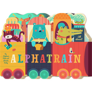 Alpha Train - An Alphabet Board Book