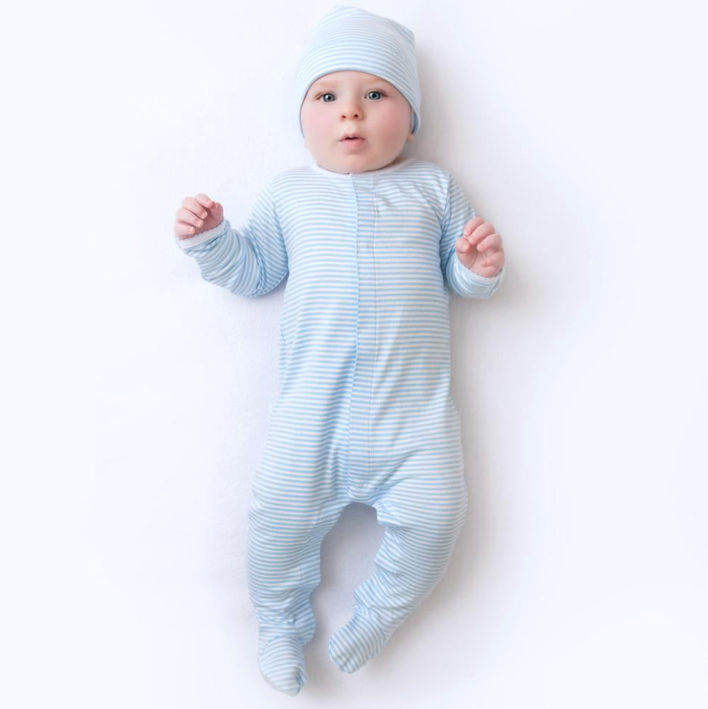 Magnolia Baby Essentials Take Me Home Set - Blue Stripe