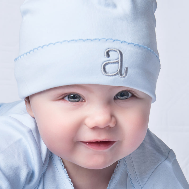 Liam & Lilly Bespoke Blue Hat - Personalization Available