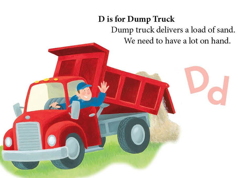 D is for Dump Truck Book