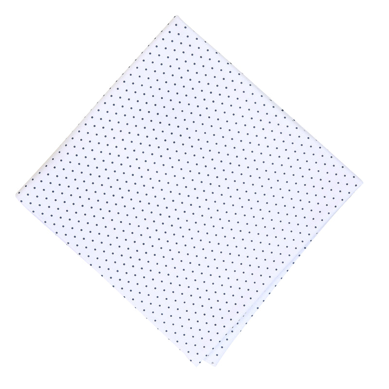 Magnolia Baby Essentials Navy Blue Mini Dots Blanket - Personalization Available