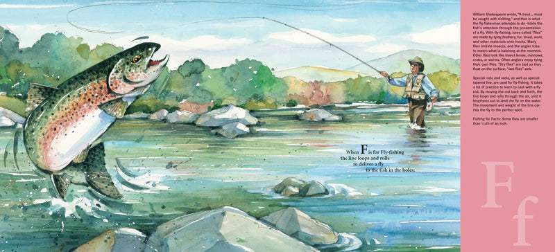 H is for Hook: A Fishing Alphabet Book