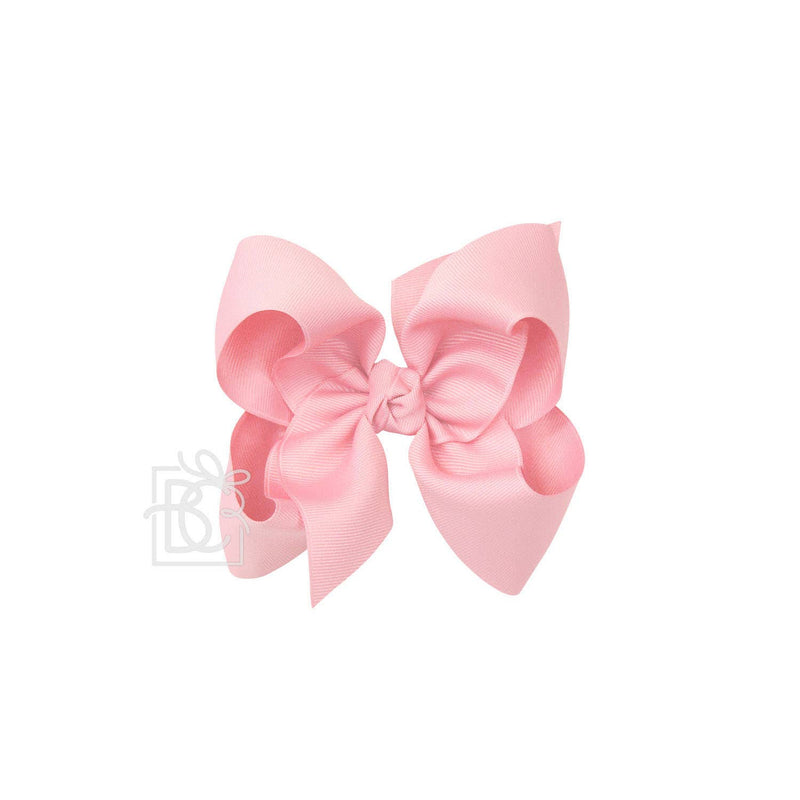 Signature Pink Bow on Alligator Clip