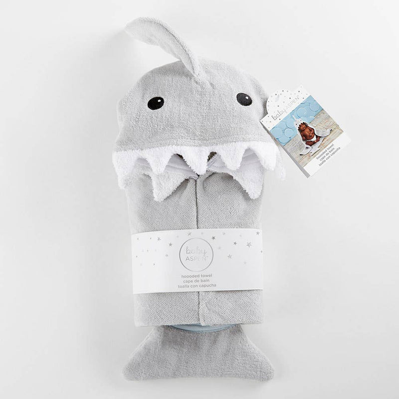 Shark Hooded Towel - Personalization Available