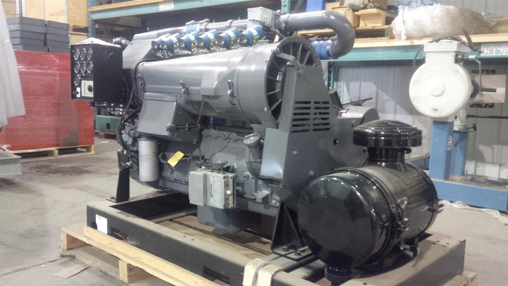 TCG914L06 DEUTZ GAS ENGINE SN# 8845873