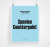 Species Counterpoint Poster Set