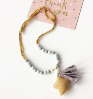 Star & Tassel Necklace NYA-2014