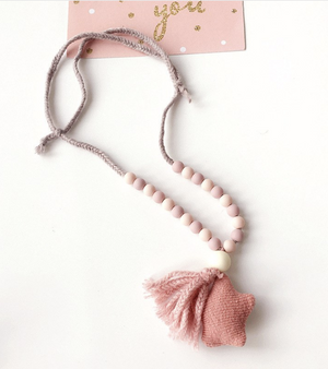 Star & Tassel Necklace NY-ACN02