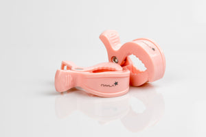 2er Clips - powder rose