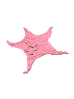 Teether Bamboo - dark rose