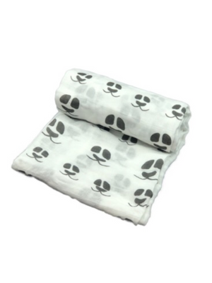 Mini Swaddle - panda